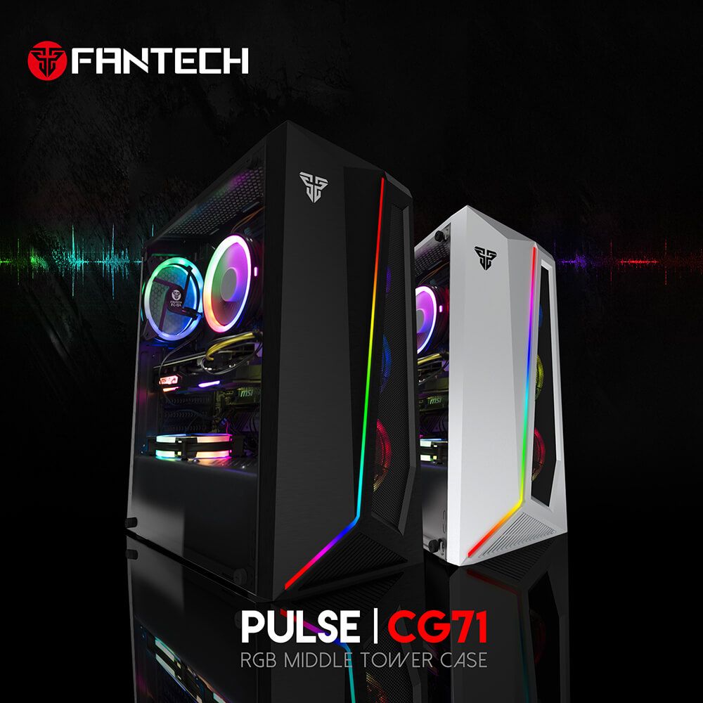 Gabinete fantech RGB Pulse
