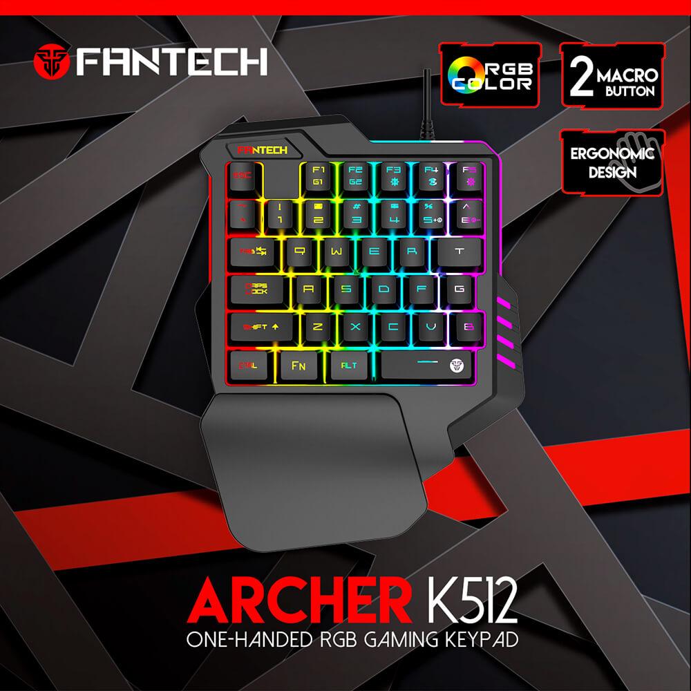 teclado de una mano Fantech