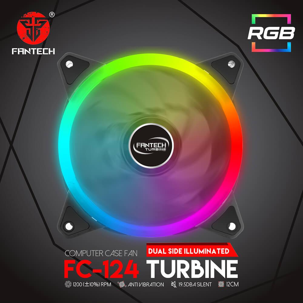 Turbina RGB dual para pc