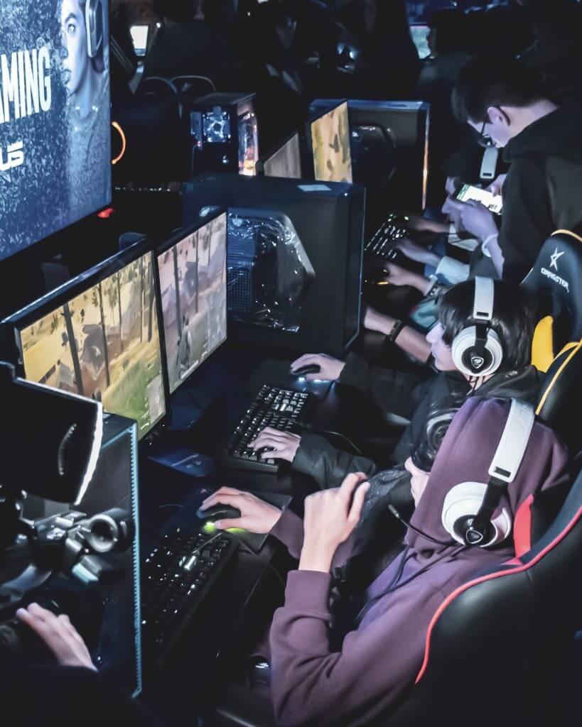 Zona de experiencia gamer