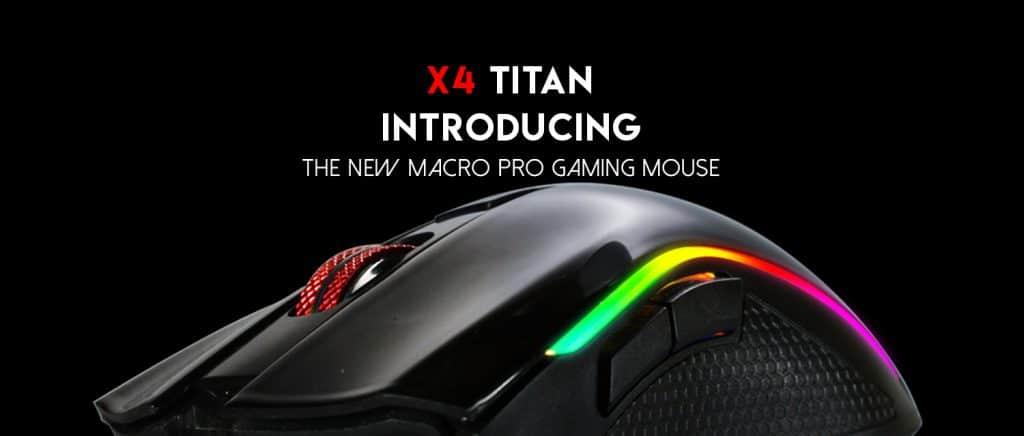 Mouse X4 Titan Fantech