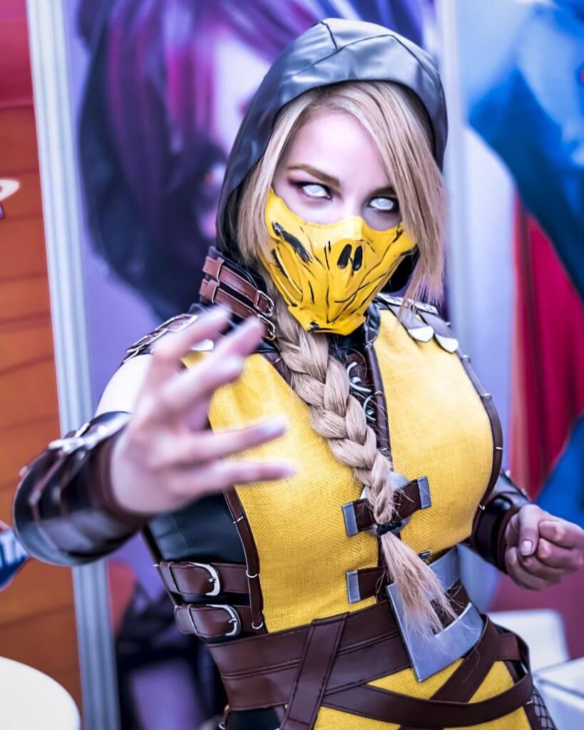 Rocio Cosplay Mortal Kombat Cosplay Scorpion