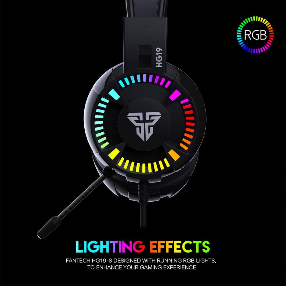 Audífonos Gaming RGB Fantech