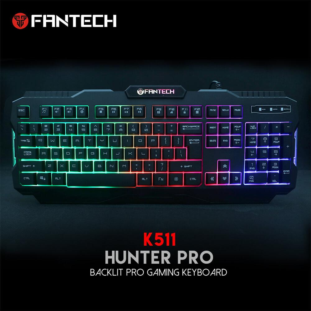 Teclado RGB Hunter Pro