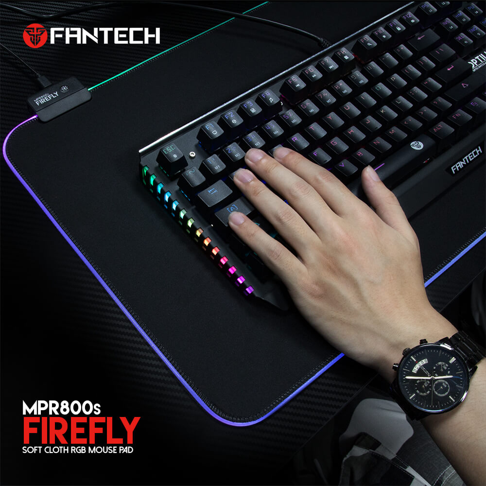 Mousepad Gamer RGB Antidelizante