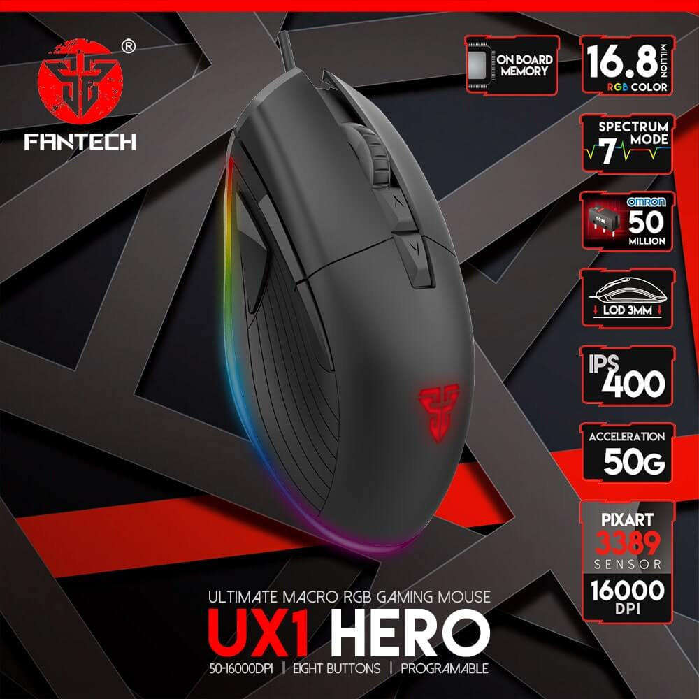 Mouse Competitivo de alto rendimiento RGB for Esports