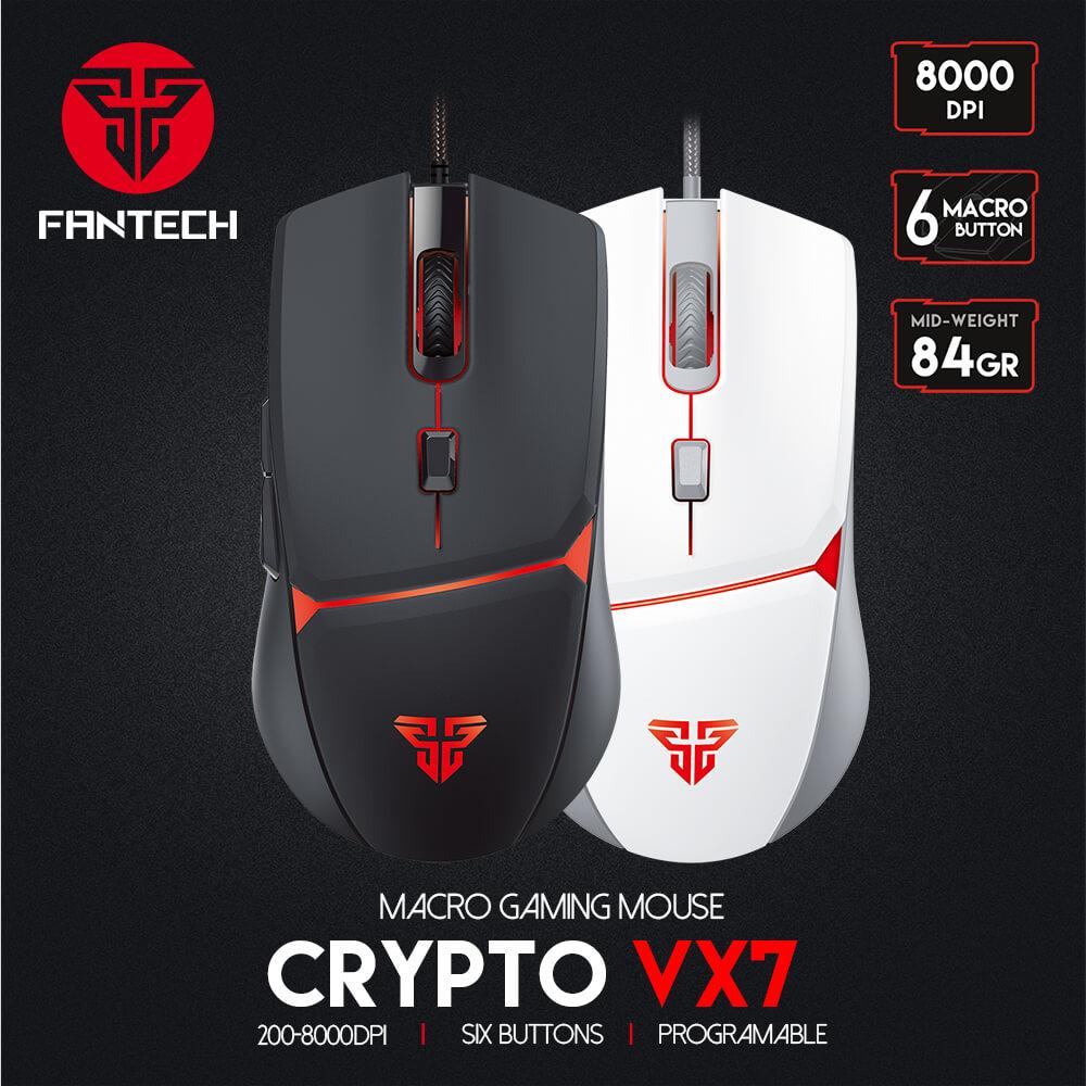 Nuevo mouse Space edition fantech VX7 CRYPTO