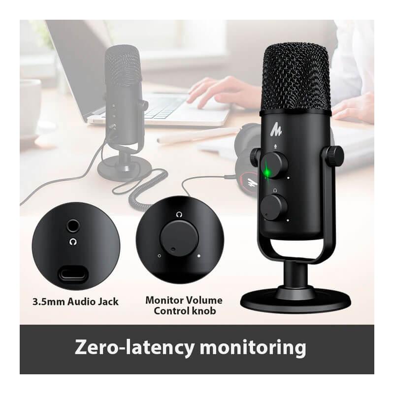 Microfono portatil para videoconferencias y videollamadas con alta calidad y definición de sonido