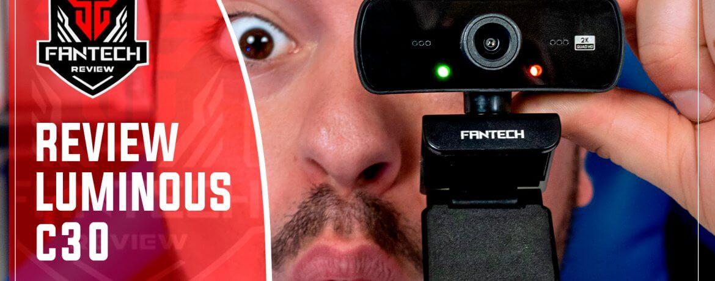 revisión webcam C30 luminouse de Fantech Gaming