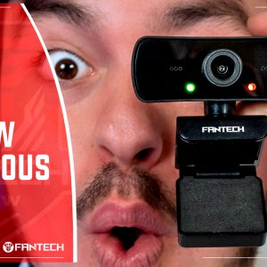 revisión webcam C30 luminouse de Fantech Gaming