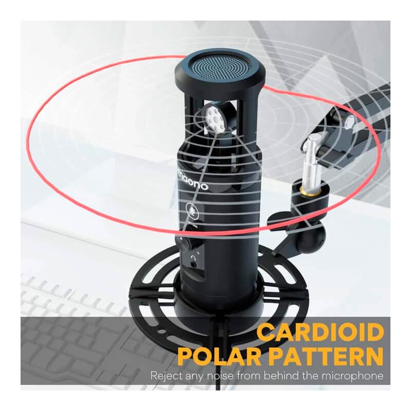 Microfono condensador de bajo costo e increíble sonido